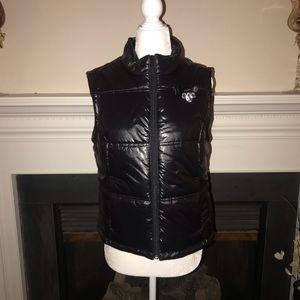 Princess Vera Wang Coated Puffer Vest